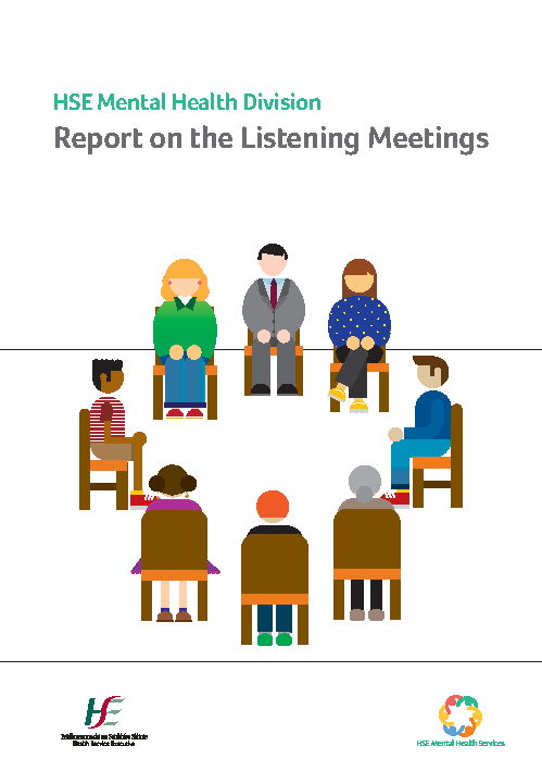Mental Health Division Report on the Listening Meetings front page preview image