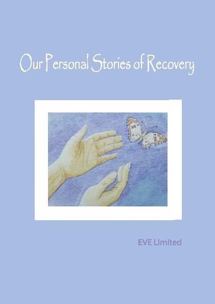 Our Personal Stories of Recovery front page preview