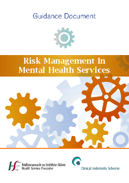 Risk Management in Mental Health front page preview