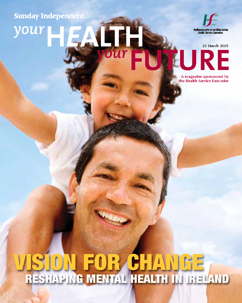 Your health your future Vision for change front page preview