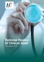 National Review of Clinical Audit Report 2019 front page preview image