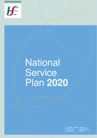 National Service Plan 2020 front page preview