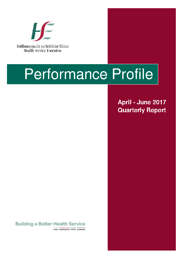 April to June 2017 Quarterly Report front page preview