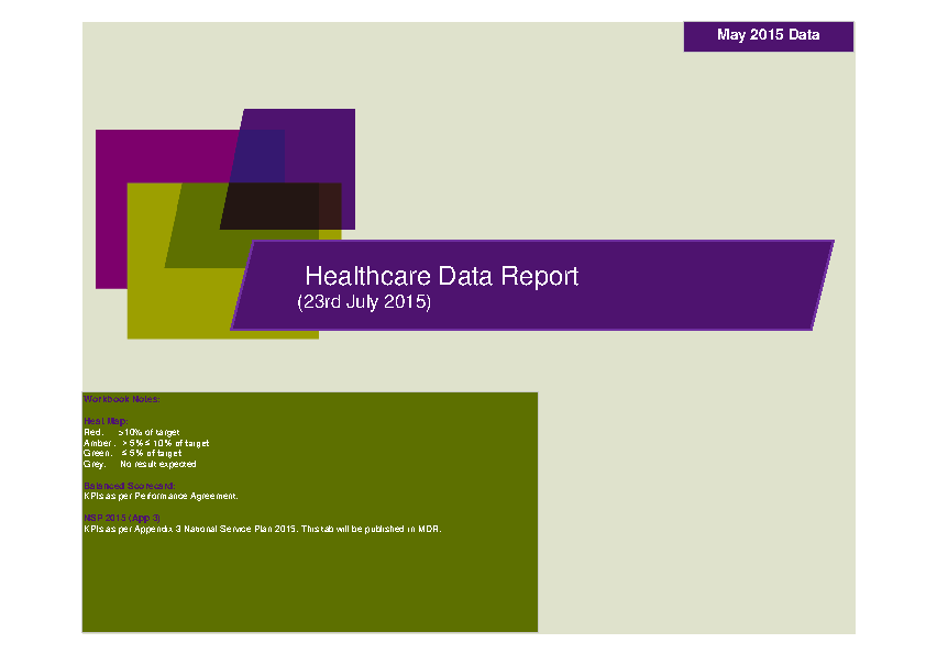 May 2015 Data Report front page preview