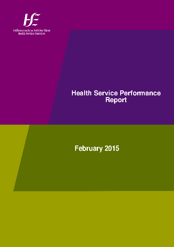 February 2015 Performance Profile front page preview image