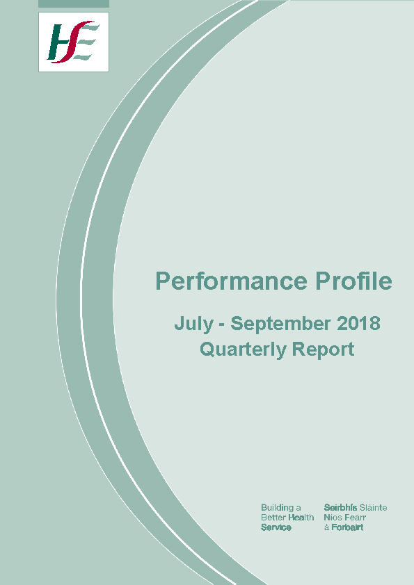July to September 2018 Quarterly Report front page preview image