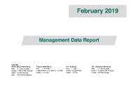 Management Data Report February 2019 front page preview image