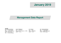 Management Data Report January 2019 front page preview image