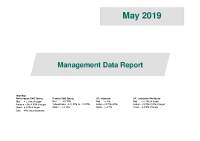 Management Data Report May 2019 front page preview image