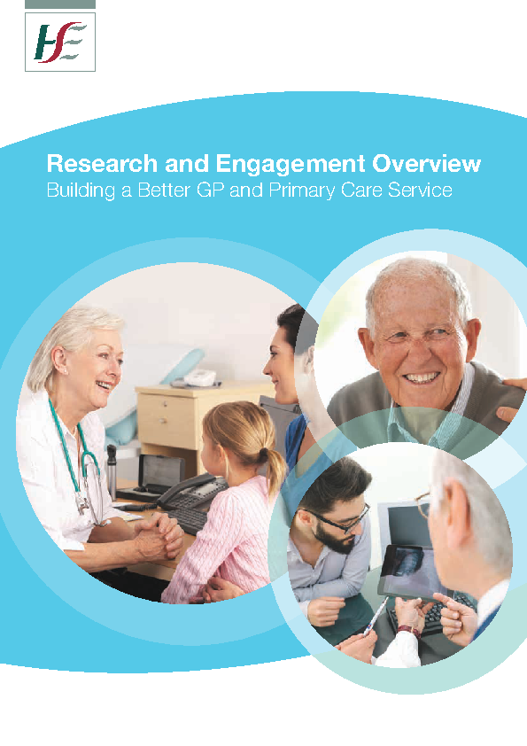 Research and Engagement Overview front page preview image