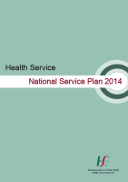 National Service Plan 2014 front page preview