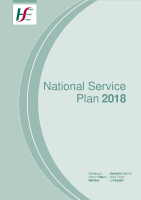 National Service Plan 2018 front page preview