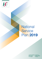 National Service Plan 2019 front page preview