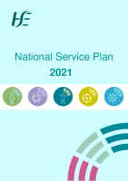National Service Plan 2021 front page preview image