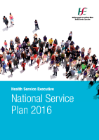 National Service Plan 2016 front page preview