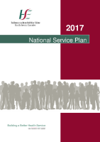 National Service Plan 2017 front page preview