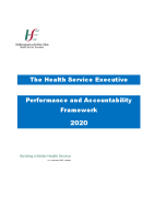 Performance and Accountability Framework 2020 front page preview image