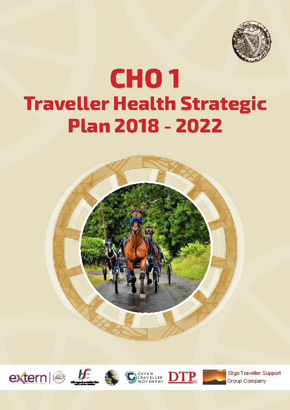 CHO 1 Traveller Health Strategic Plan 2018 - 2022 front page preview image