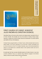 HSE Intercultural Guide: First Church of Christ, Scientist front page preview