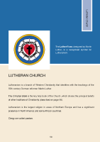 HSE Intercultural Guide: Lutheran Church front page preview