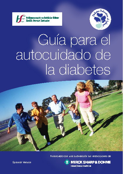 Self-care Guide for People with Diabetes - Spanish front page preview