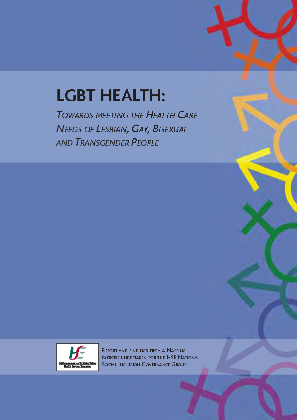 LGBT Health front page preview