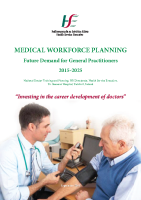 GP Medical Workforce Planning Report Sept 2015 front page preview