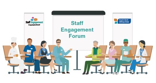 Staff Engagement Forum Cartoon