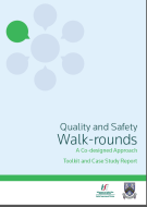 Photo of Quality and Safety Walk-rounds 2016