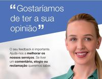 Your service your say Portugese European version
