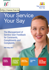 Your Service Your Say Policy 2017 Cover