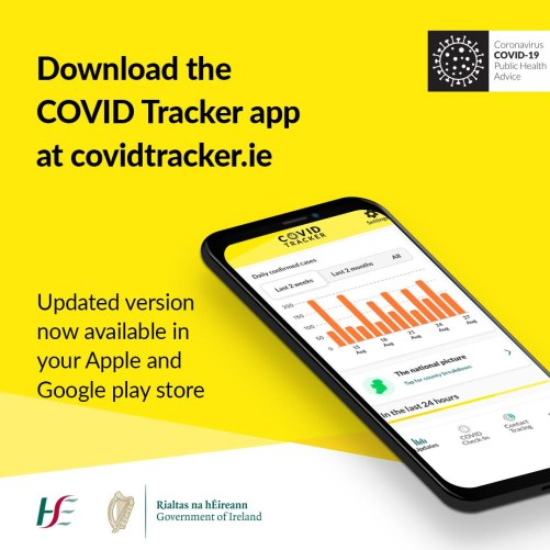 Covid Tracker Updates Version 1 0 2 Hse Ie