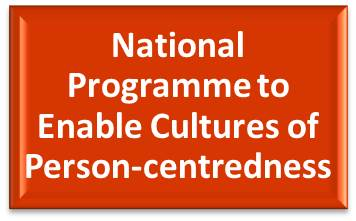 Nat Prog to Enable Cultures of Person-centredness box