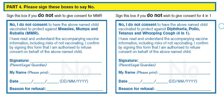 Common Queries About School Consent Forms - Ireland'S Health Service