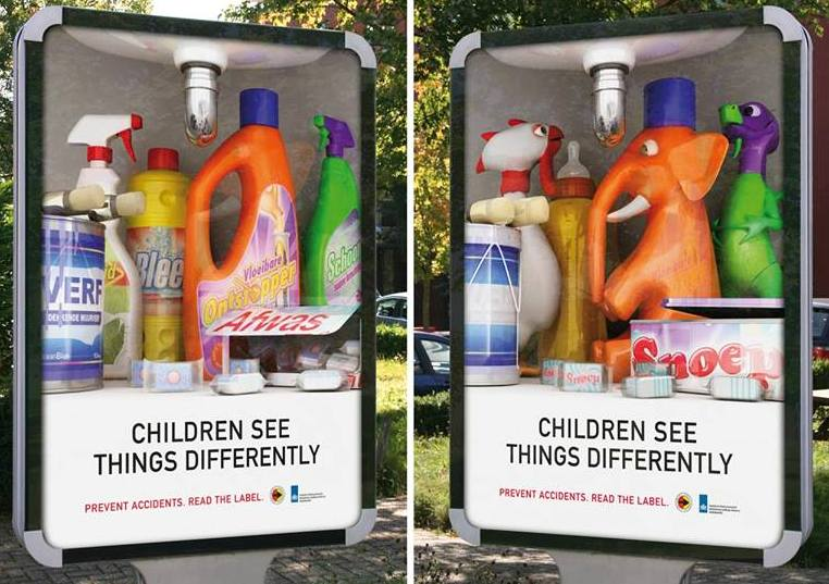 children see things differently