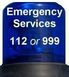Emergency - 112 or 999