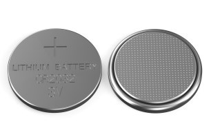 Keep button batteries out of sight and reach of your child