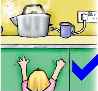 Child safety electricity and gas around the home for Safety around the house