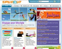 Spunout Screen Shot