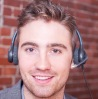 Library image of man with headset