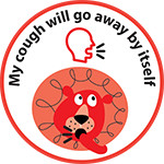 my cough kids sticker image