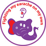 fighting my earache sticker image