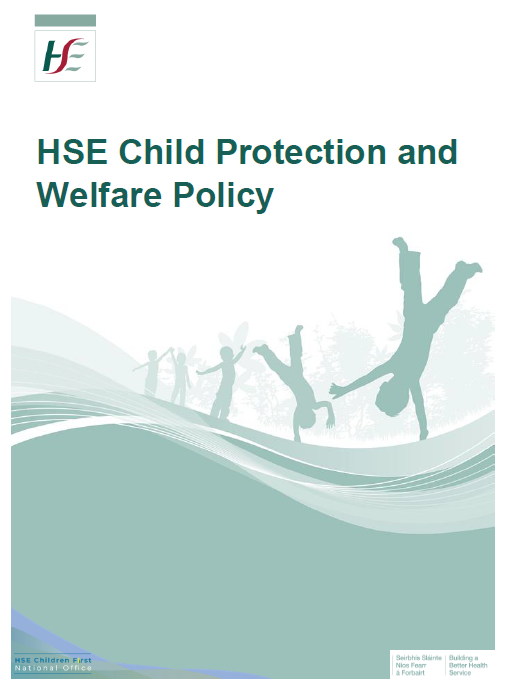 HSE Child Protection and Welfare Policy Image
