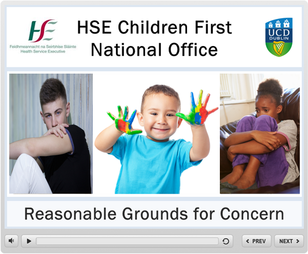 Reasonable Grounds for Concern Training Image