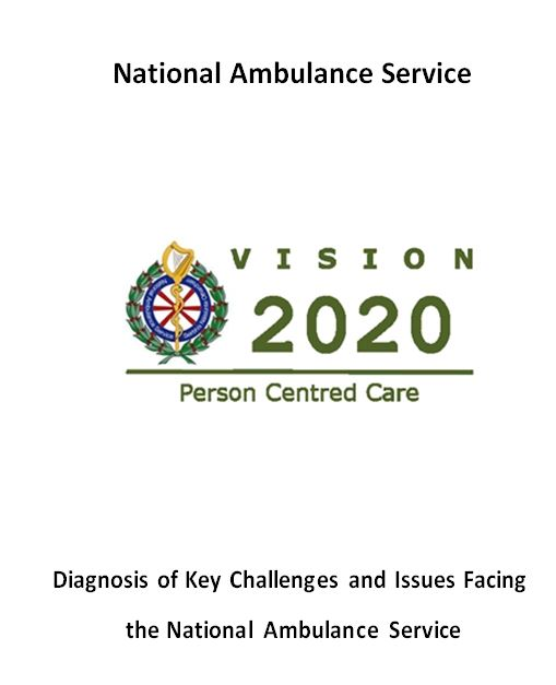 Diagnosis of Key Challenges and Issues Facing the National Ambulance Service