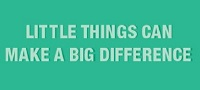 Little Things banner