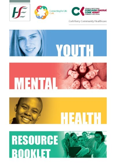 Cork Youth Mental Health Resource booklet cover