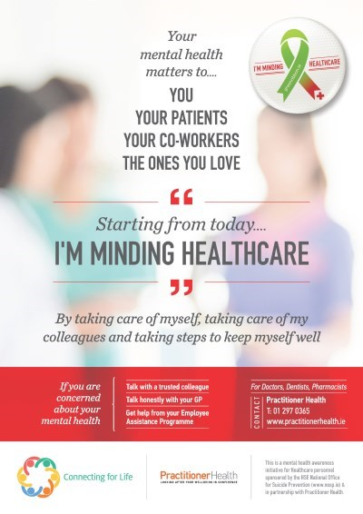 I'm Minding Healthcare A4 Poster