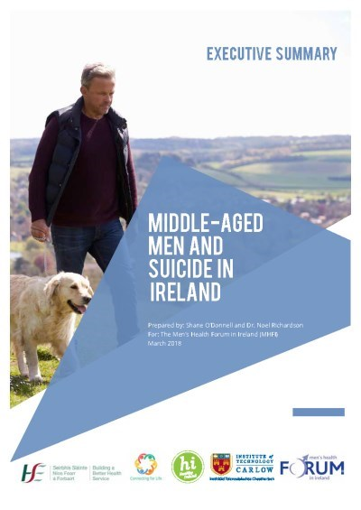 Middle-Aged Men and Suicide in Ireland ES Cover