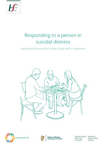 Responding to a person in suicidal distress - cover